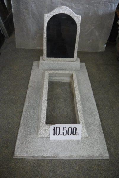 памятник из мраморной крошки - модель №1