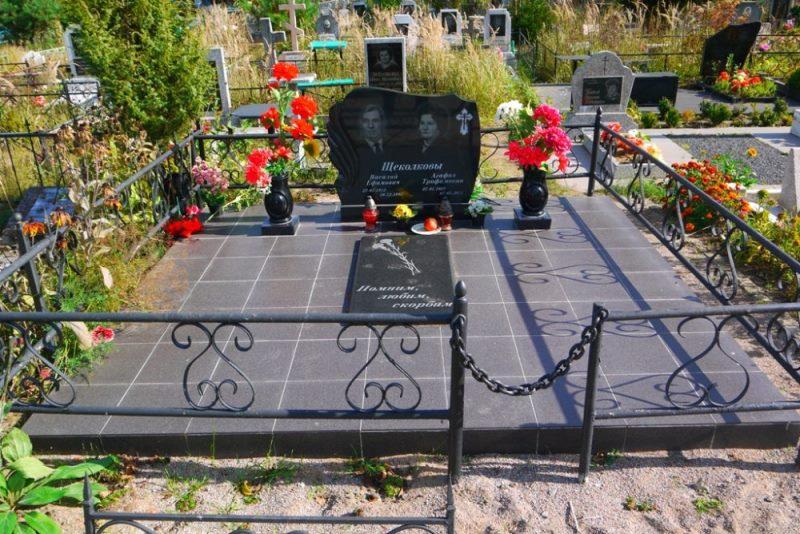 подиум на могиле фото 3