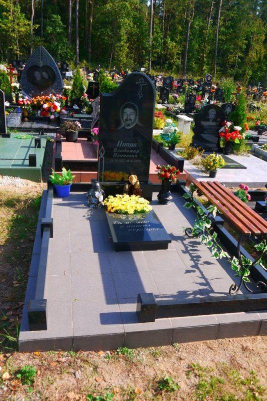 подиум на могиле фото 5