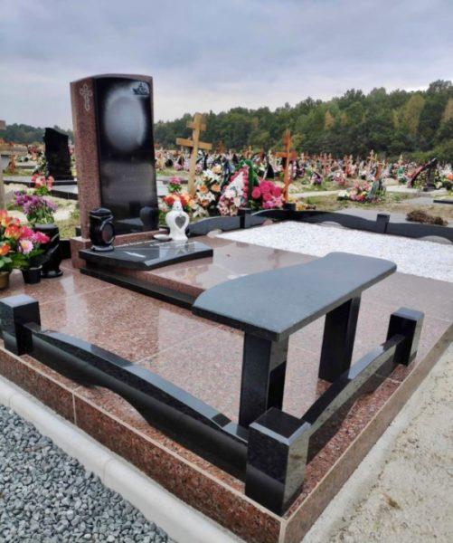 полный комплекс - обустройство места захоронения