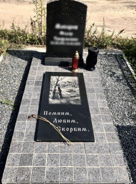 Памятник гранитный маленький