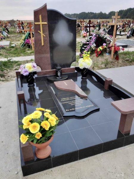 закрытое надгробие фото 2