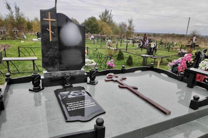 закрытое надгробие фото 3